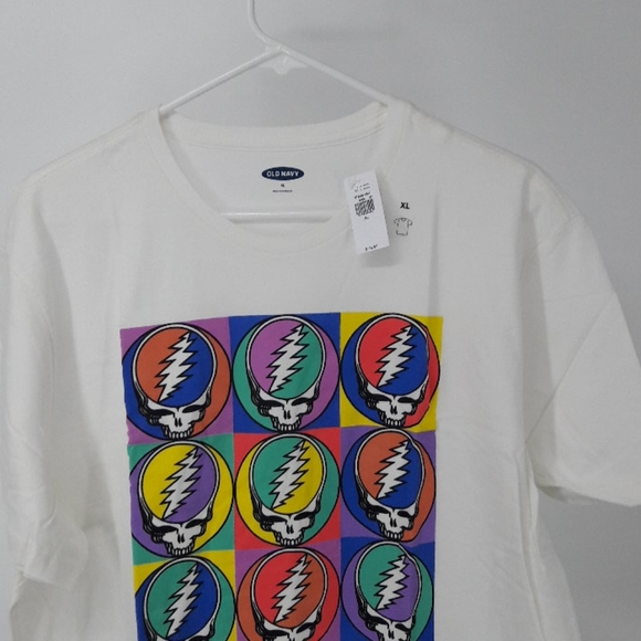 Grateful Dead Colorful Steal Your Face T-Shirt